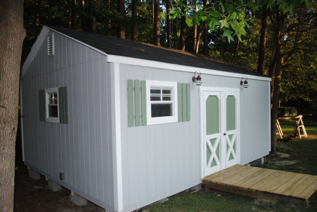 Resca storage sheds raleigh nc for Garage builders raleigh nc